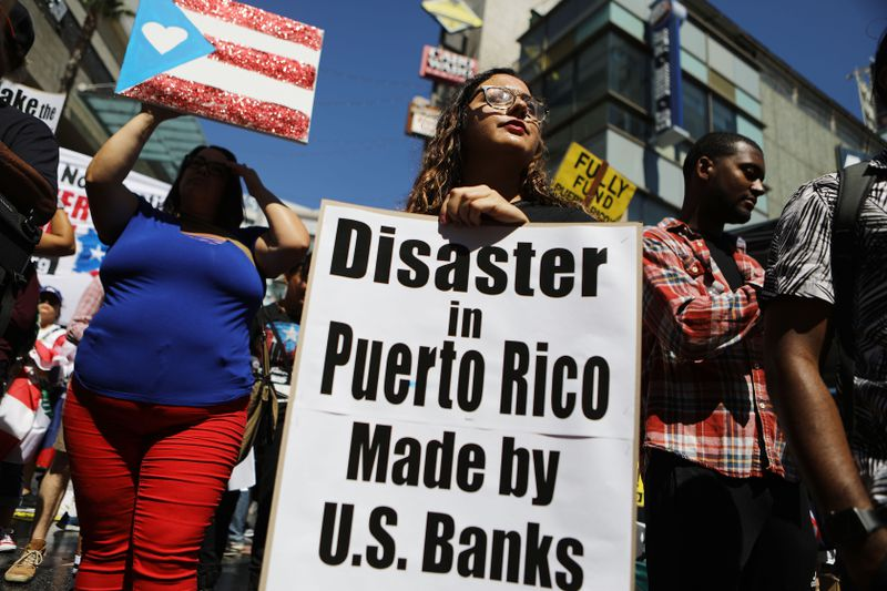 LA Activists Rally In Support Of Puerto Rico 1 Year After Hurricane Maria