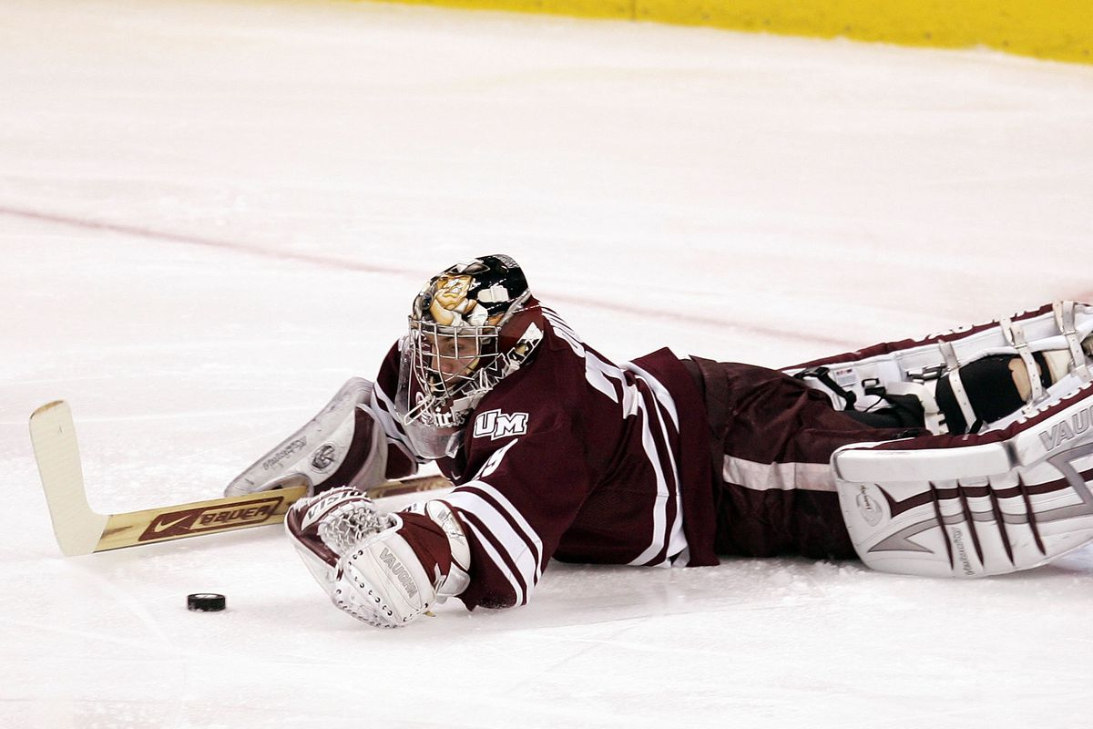 Remember when Jonathan Quick was killing it up in Amherst?