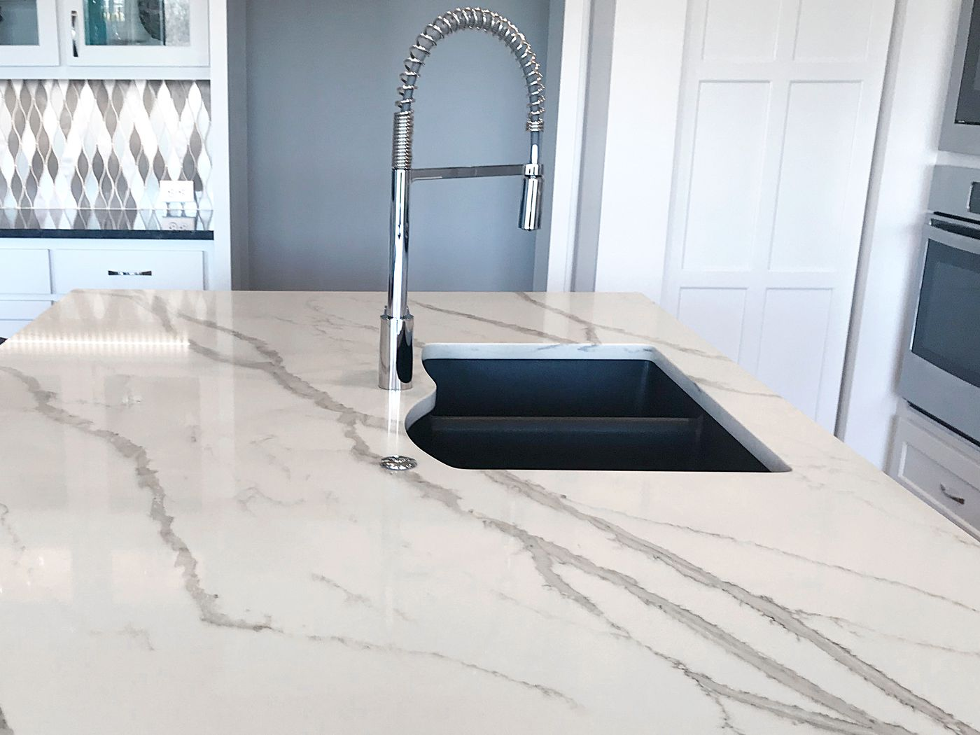 Faux Marble Countertops A Step By Guide This Old House