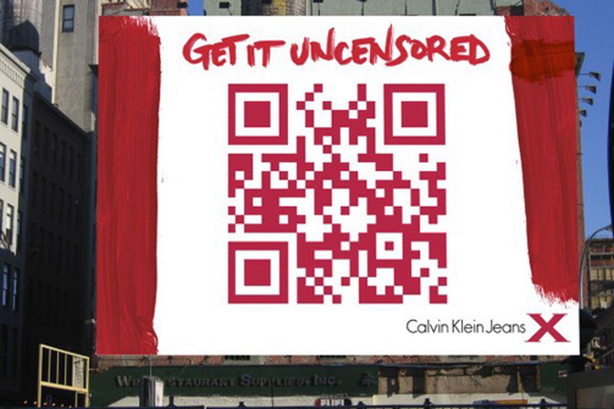 "Image via <a href=""http://www.stylelist.com/2010/07/13/calvin-klein-digital-billboard-qr/"">Stylelist</a>"