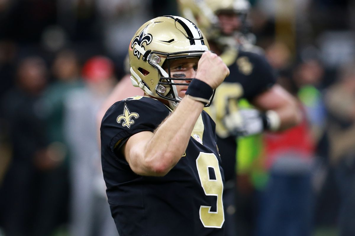 the best attitude 97874 f093f Purdue and the NFL Playoffs: Brees Still Alive for Second ...