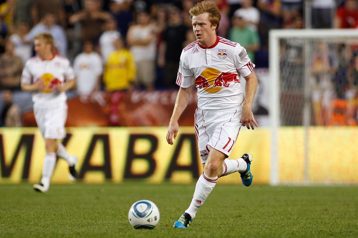 Un-sung midfielder, Dax McCarty, who may very well be the New York Red Bulls' most important player in 2012.  (Photo by Mike Stobe/Getty Images for New York Red Bulls)
