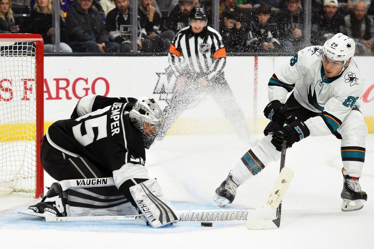 NHL: JAN 15 Sharks at Kings