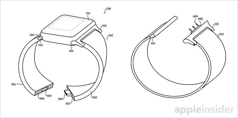 Apple smart band patent
