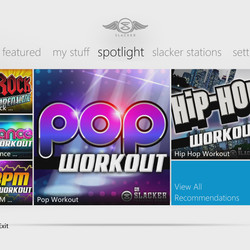 Slacker launches on Xbox 360, joins growing selection of