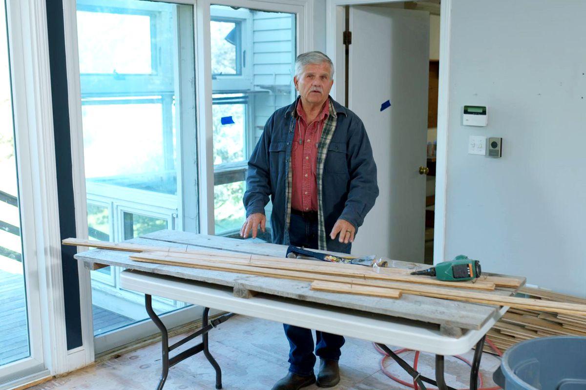 S43 E2, Tom Silva at the Concord Country Cape project