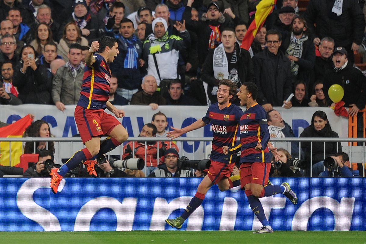 Real Madrid Vs Barcelona 2015 16 La Liga Final Score 0 4 As Barca Dominate El Clasico Barca Blaugranes