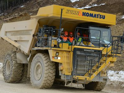 ?E-Dumper? dump truck will be the largest electric vehicle in the world