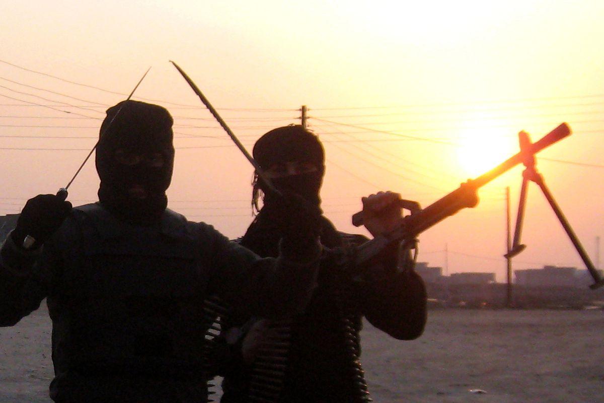 Iraqi militants in Anbar province on January 21, 2014.