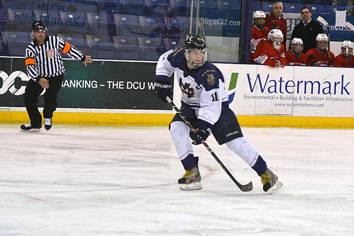 UMass Lowell recruit Tyler Sifferlen continues to light the back of the net in the 2014 Super 8.