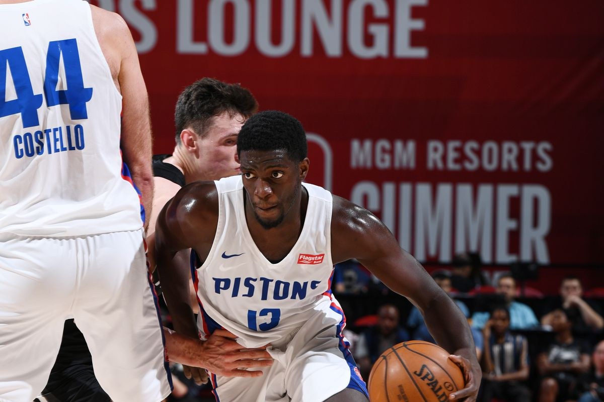 2019 Las Vegas Summer League - Brooklyn Nets v Detroit Pistons