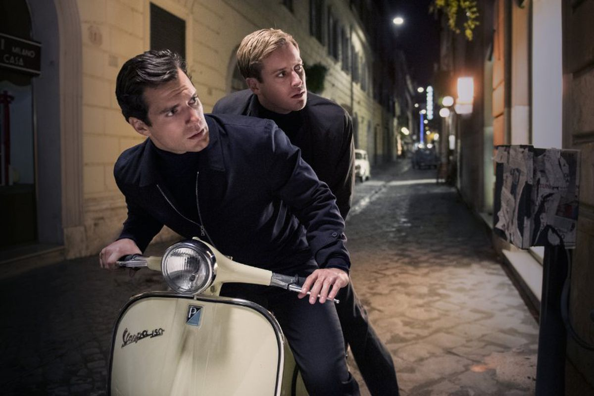 Henry Cavill and Armie Hammer in The Man from U.N.C.L.E.