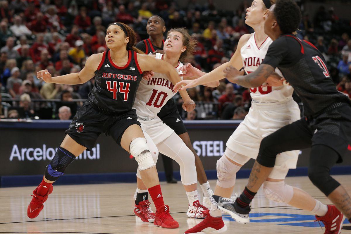 COLLEGE BASKETBALL: MAR 06 Big Ten Women's Tournament - Rutgers vs Indiana