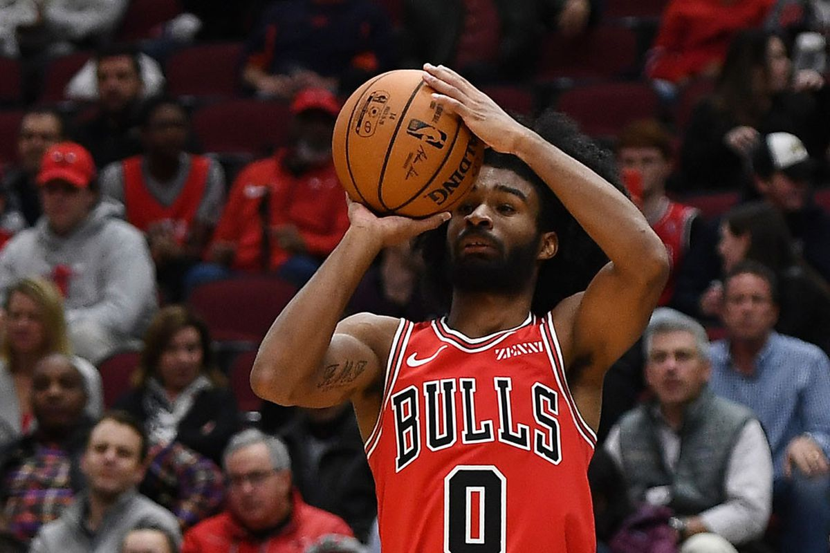 """""""I've never seen somebody hit seven threes in a quarter,'' Bulls guard Zach LaVine said of Coby White's game against the Knicks. """"I've been telling you guys from the get-go Coby is special.''"""