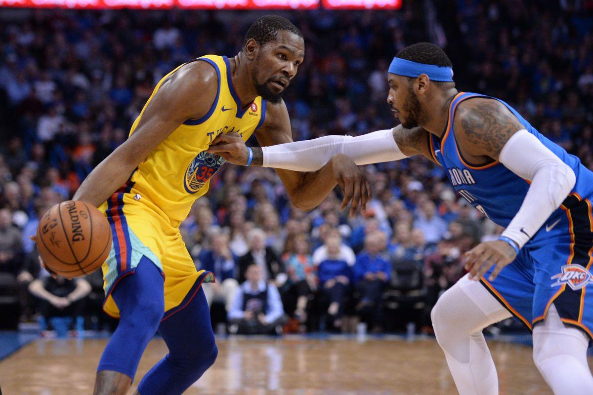 NBA: Golden State Warriors at Oklahoma City Thunder