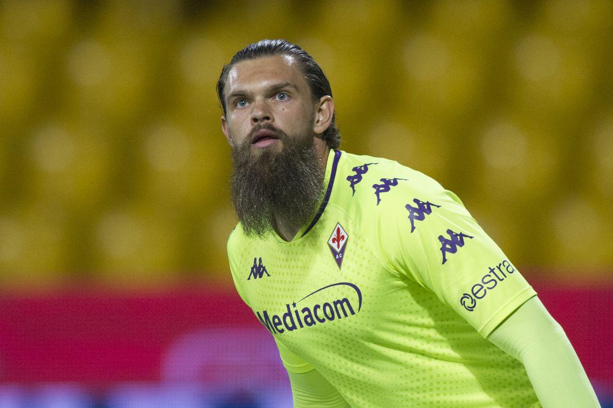 Bartlomiej Dragowski player of Fiorentina, during the match...