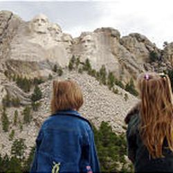 Grandview Terrace gives visitors a good look at Mount Rushmore. The national memorial has programs for children.