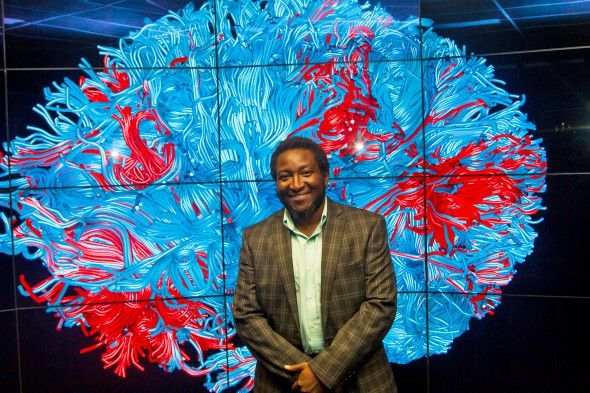 Dr. Olu Ajilore is an associate professor in the University of Illinois at Chicago's psychiatry department. | Vibhu Sreevatsa Rangavasan Photo