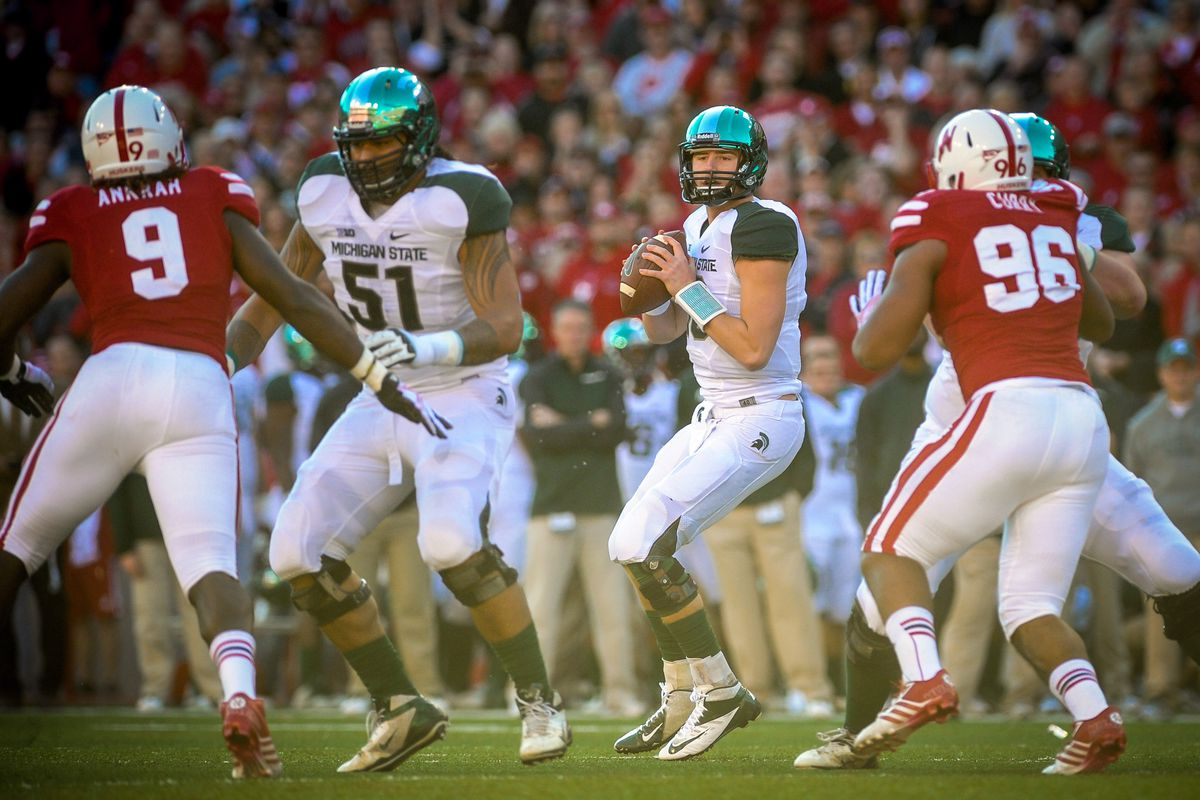 Michigan State Vs Nebraska Results Sparty Capitalizes On Miscues