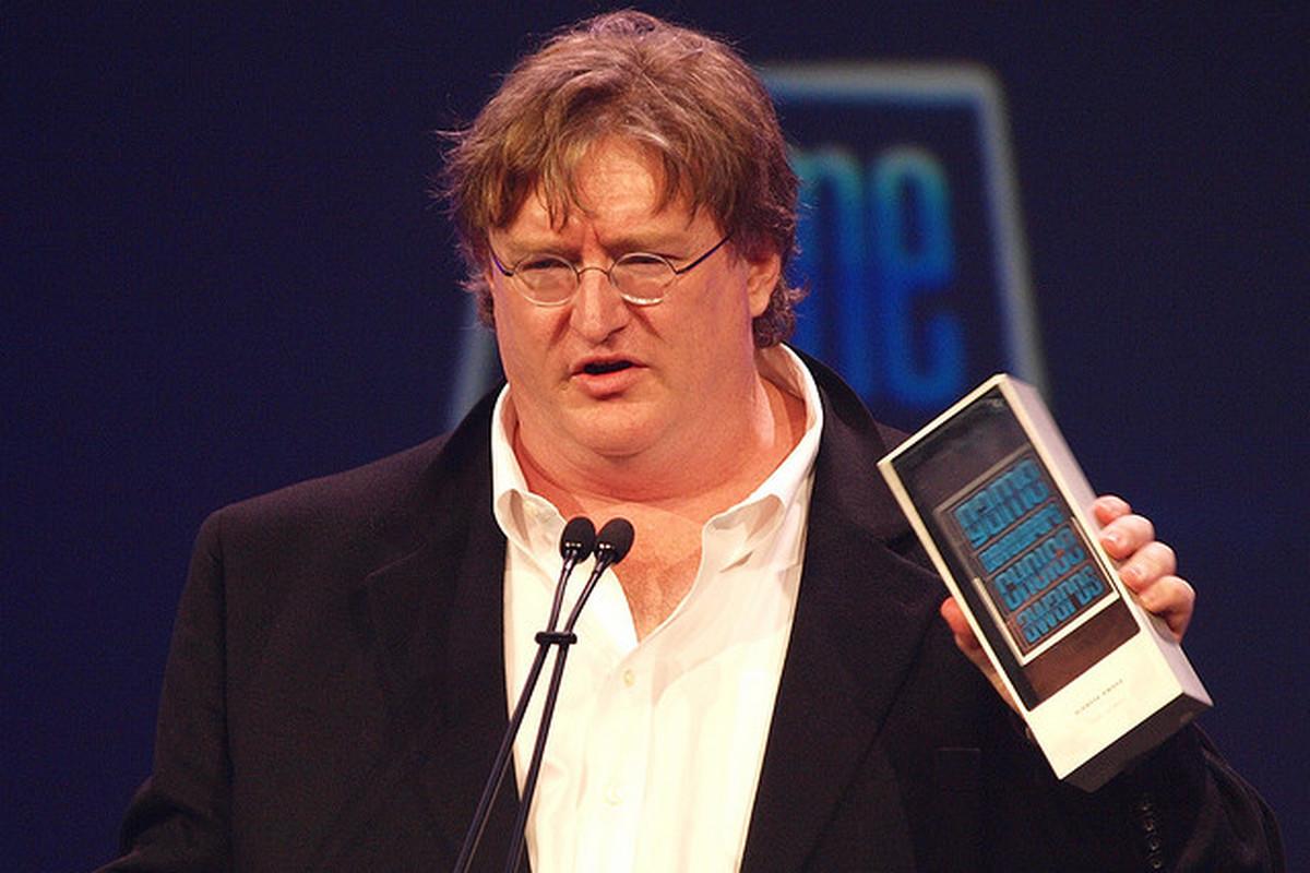 Gabe Newell FLICKR