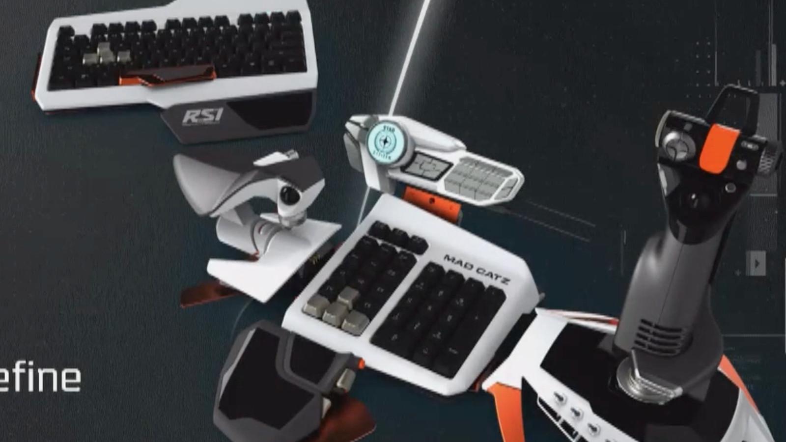 Star Citizen S Custom Joystick Looks Positively Stunning