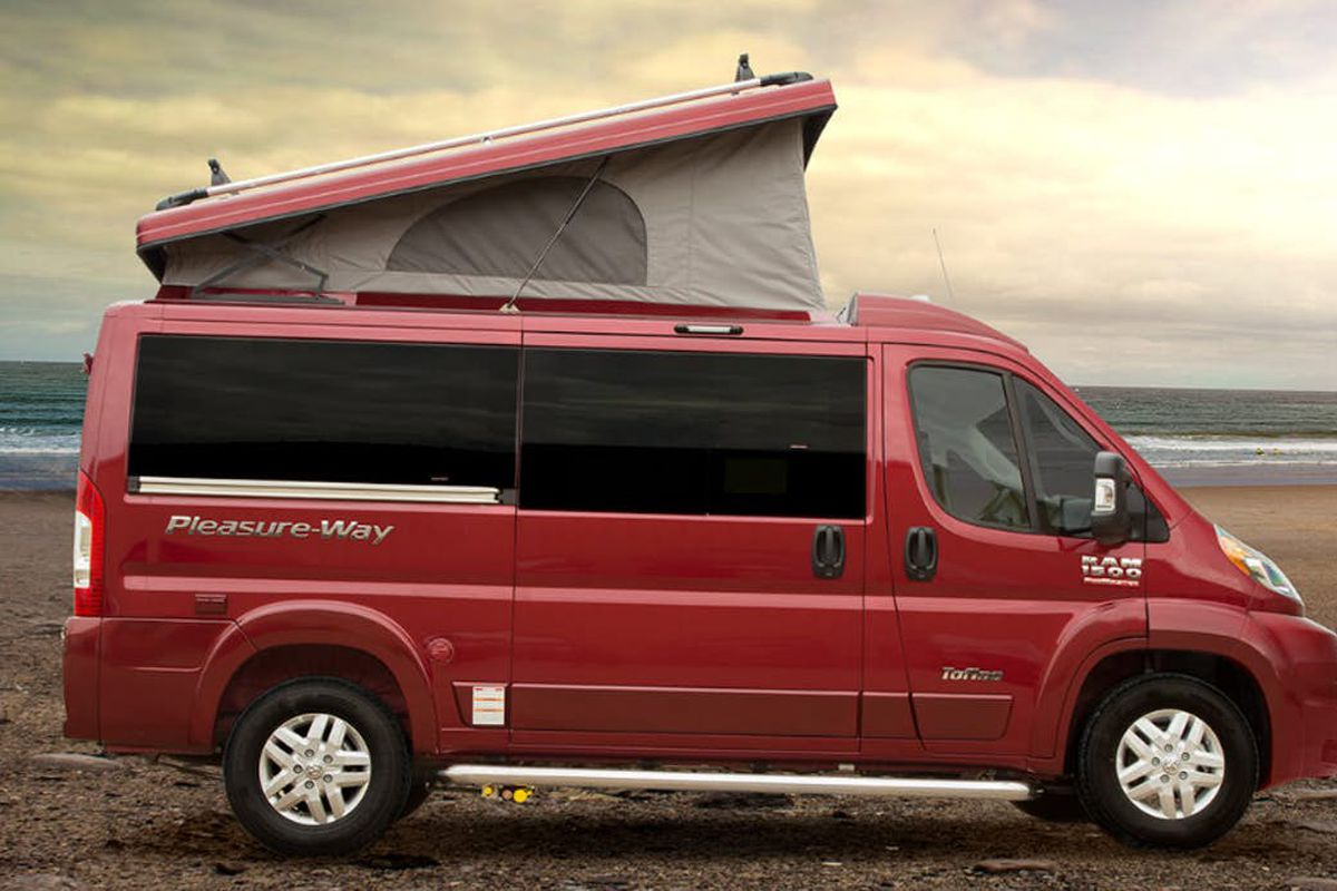 Pop-top camper van raises the roof on adventure - Curbed