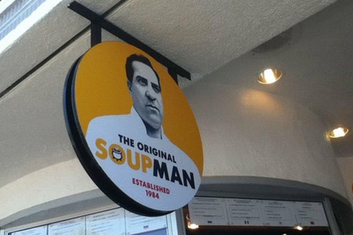 The Original Soupman on The Wharf.