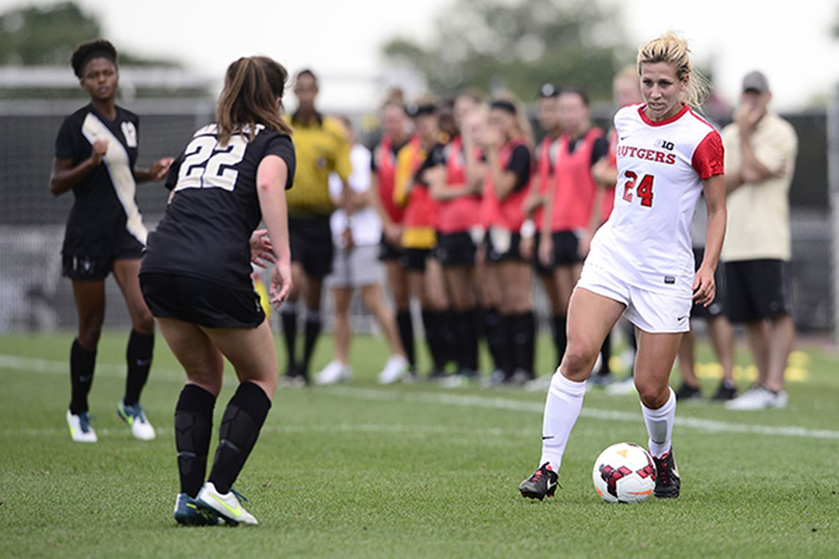 Jessica Puchalski a big part of the Knights 2-0 record in the B1G