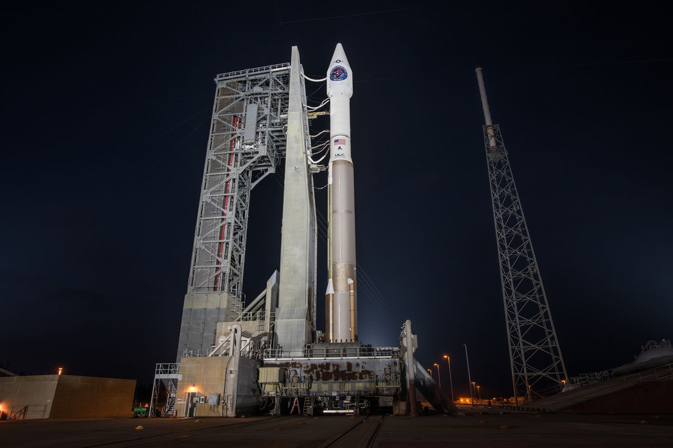 watch an atlas v rocket launch a missile detecting satellite to orbit