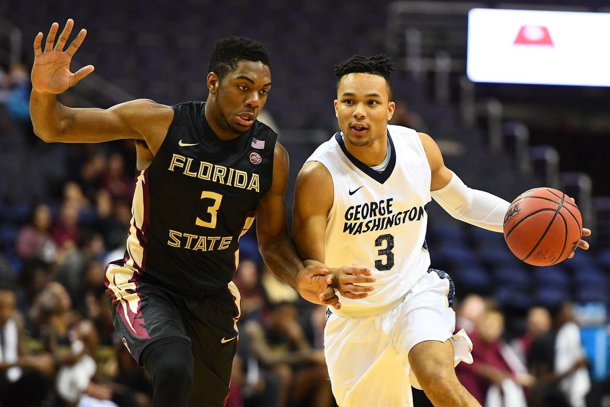 NCAA Basketball: Florida State at George Washington