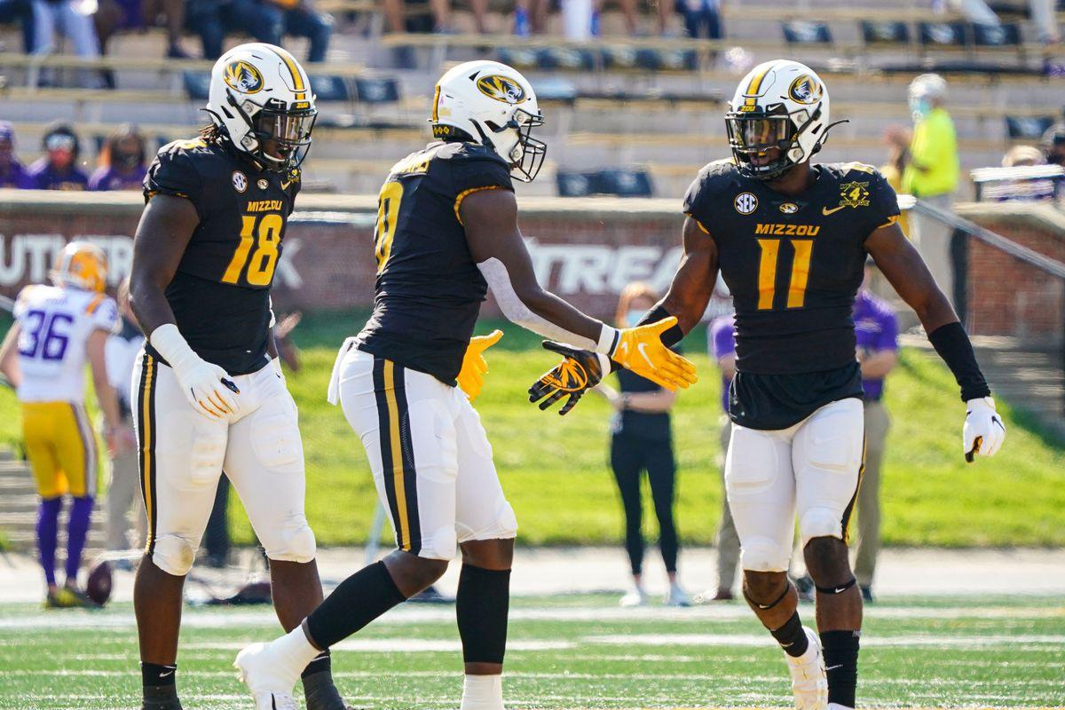 NCAA Football: Louisiana State at Missouri