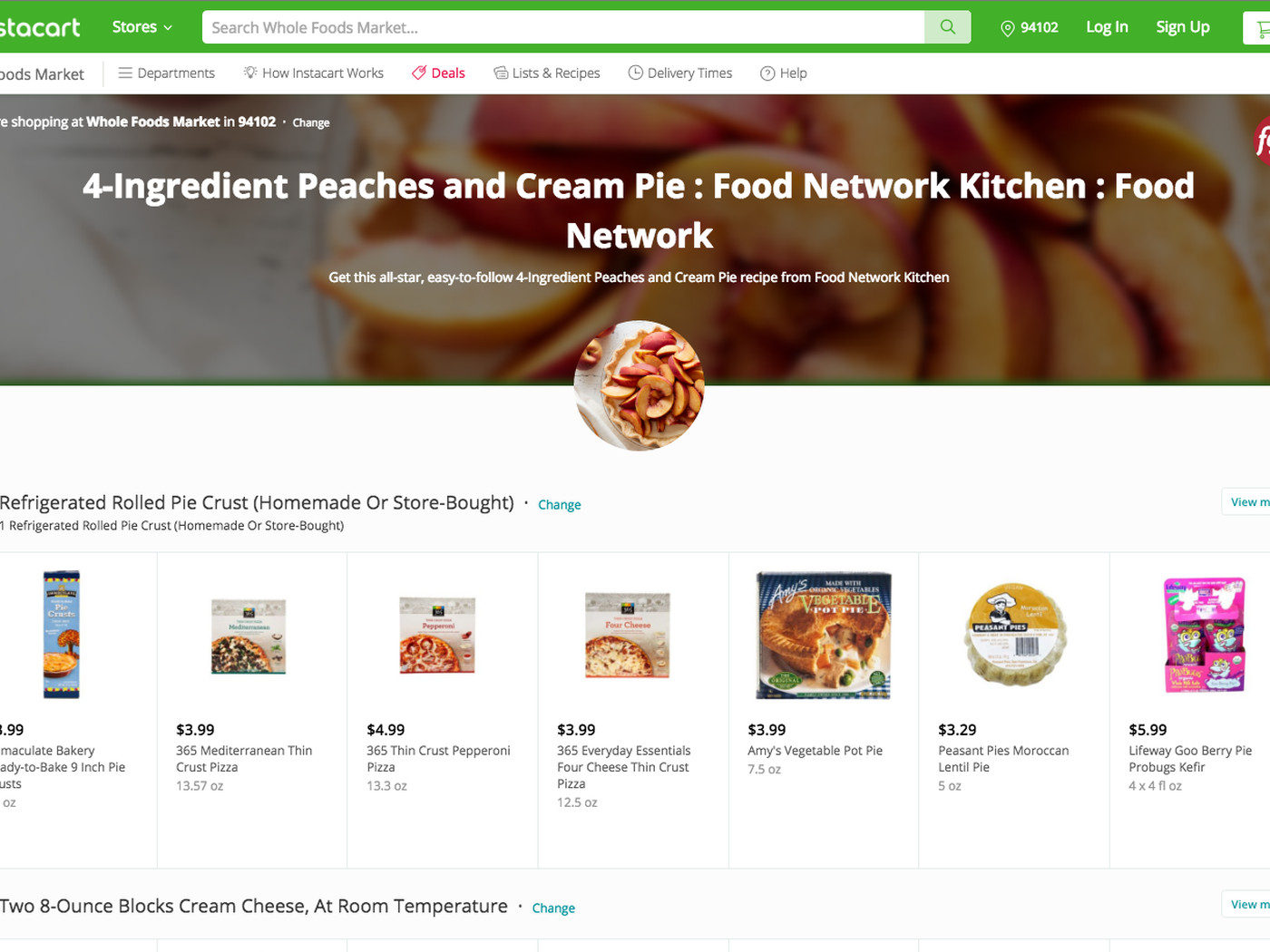 Instacart partners with the Food Network for recipe-ready deliveries ...