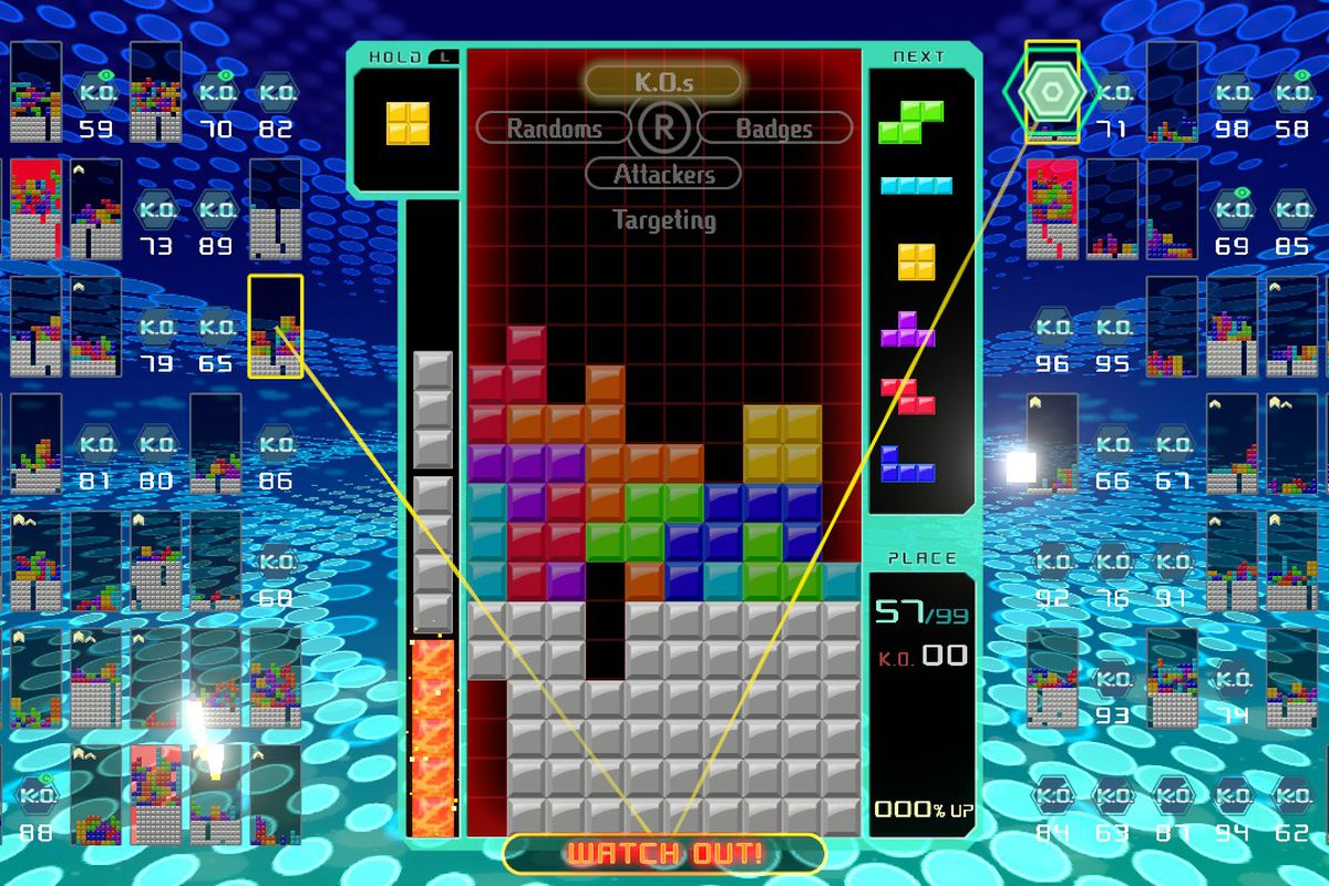 Tetris 99 physical release comes with Nintendo Switch Online
