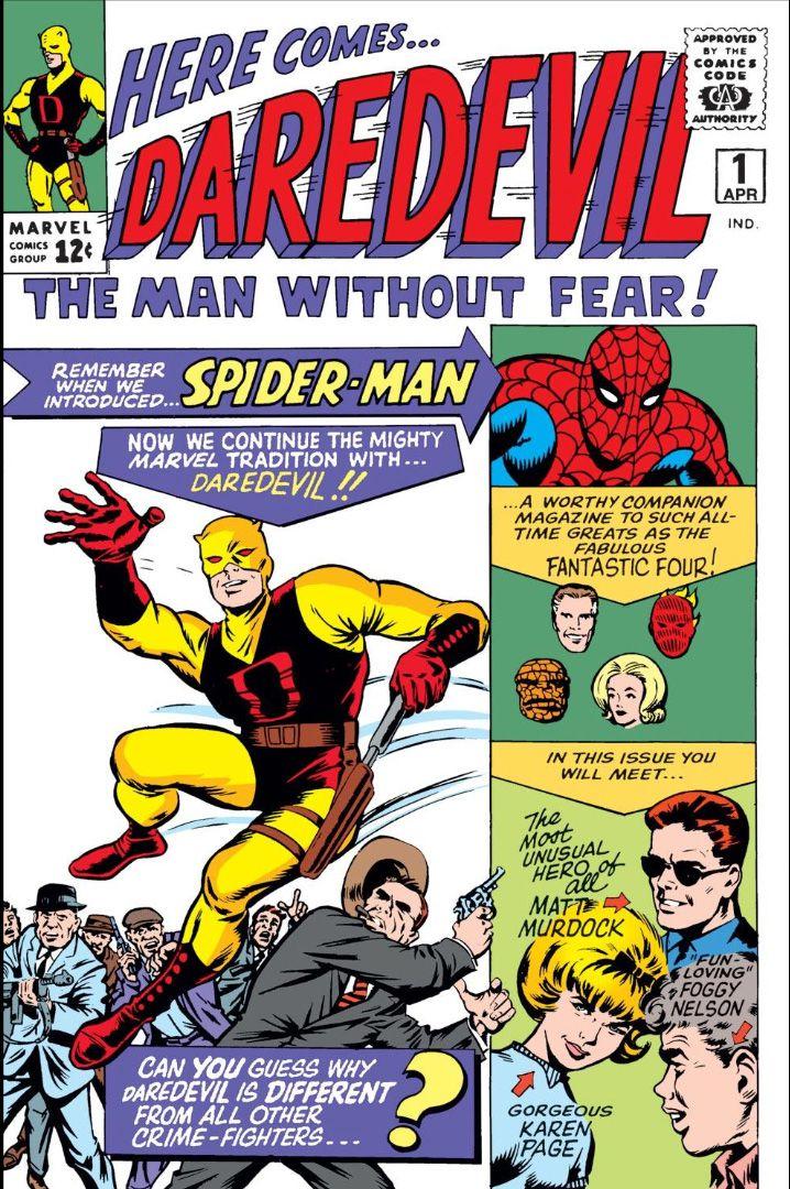 daredevil no 1 cover