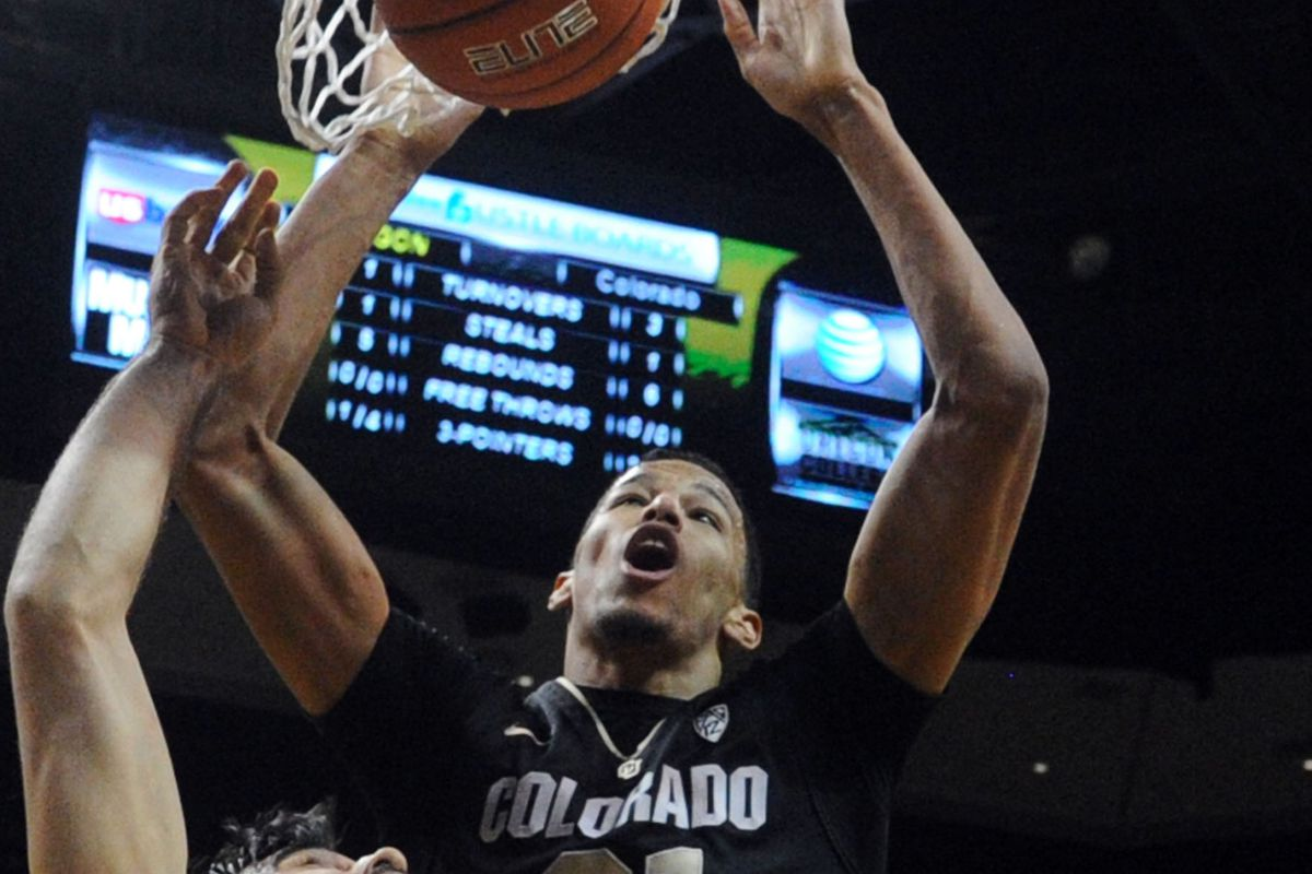Andre Roberson scored the game winning basket against Oregon tonight and propelled the Buffs to a 48-47 victory