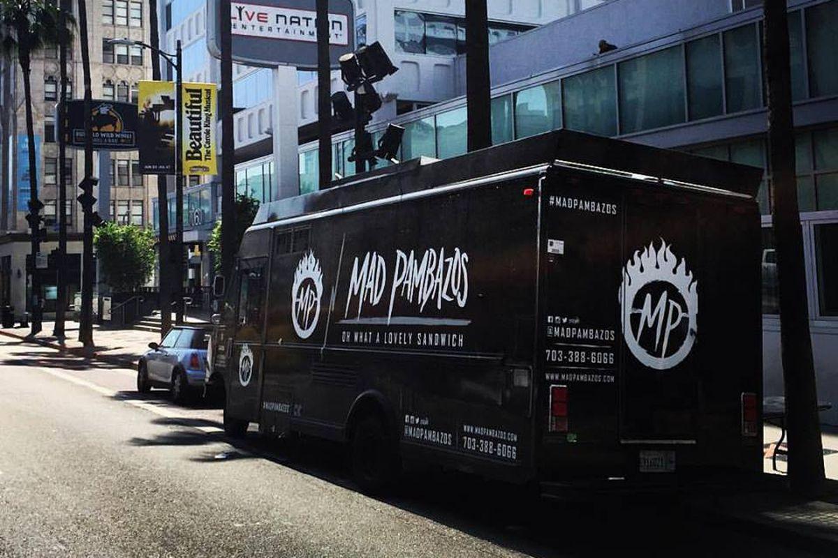 The Mad Pambazos truck