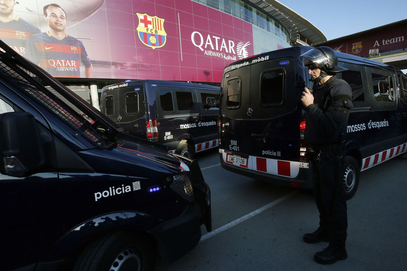 Catalan police assure that Barcelona-Real Madrid match will proceed safely