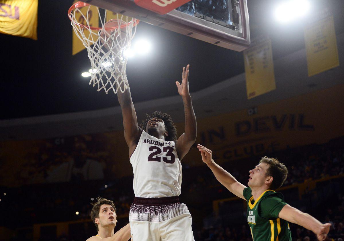 NCAA Basketball: San Francisco at Arizona State