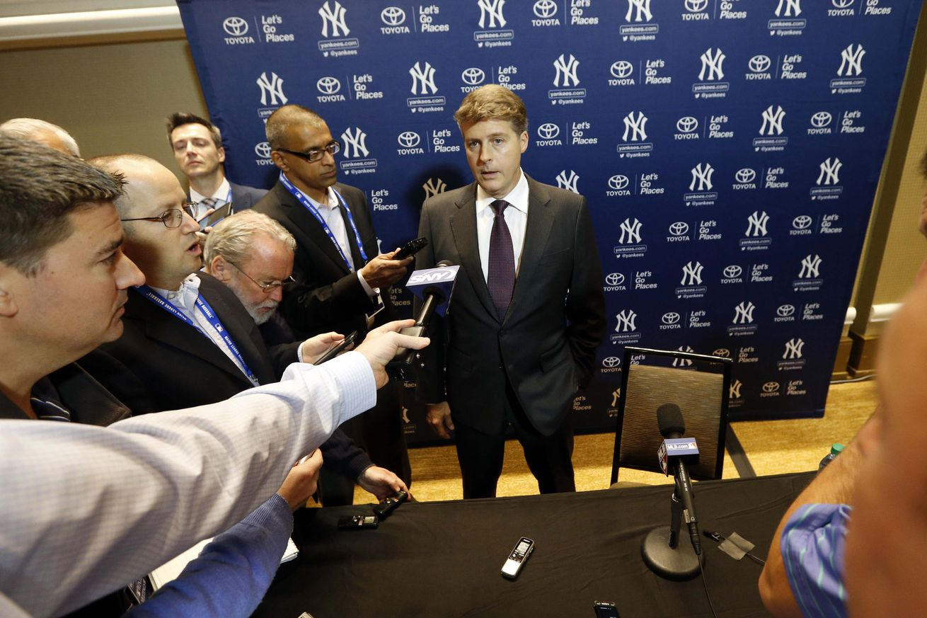 NYY notes: Hal Steinbrenner, Aroldis Chapman, and uniforms