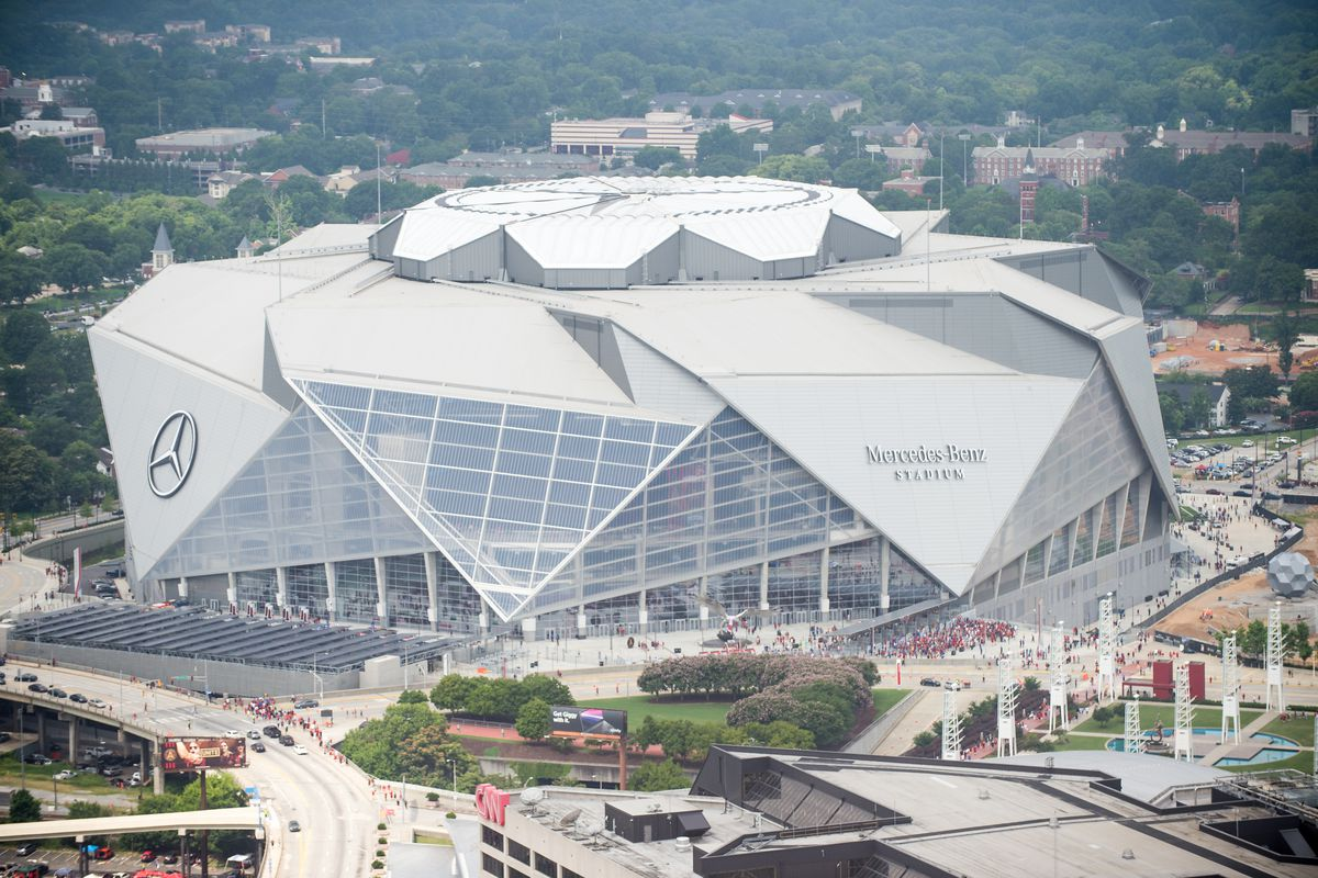 Super Bowl 53 Mercedes Benz Stadium S 7 Wildest Features