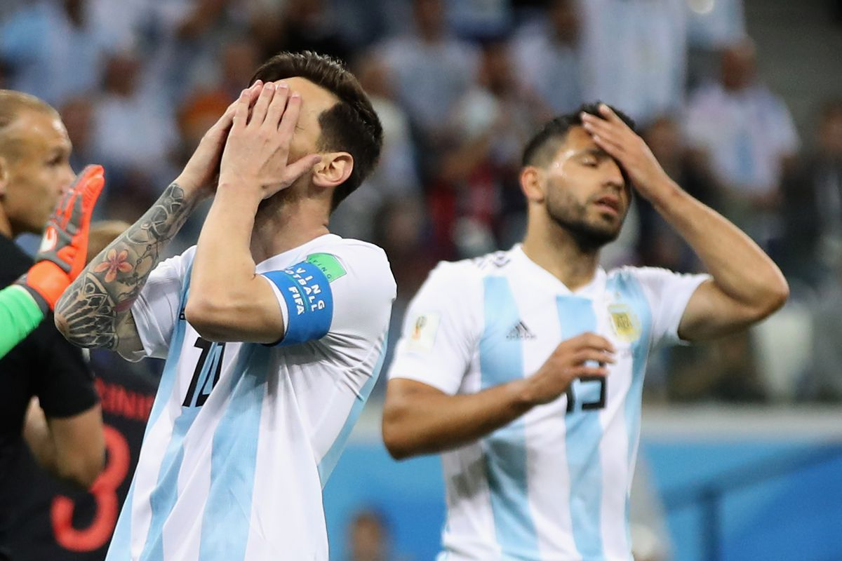f6853c5e Lionel Messi and Argentina on the brink of elimination from 2018 ...