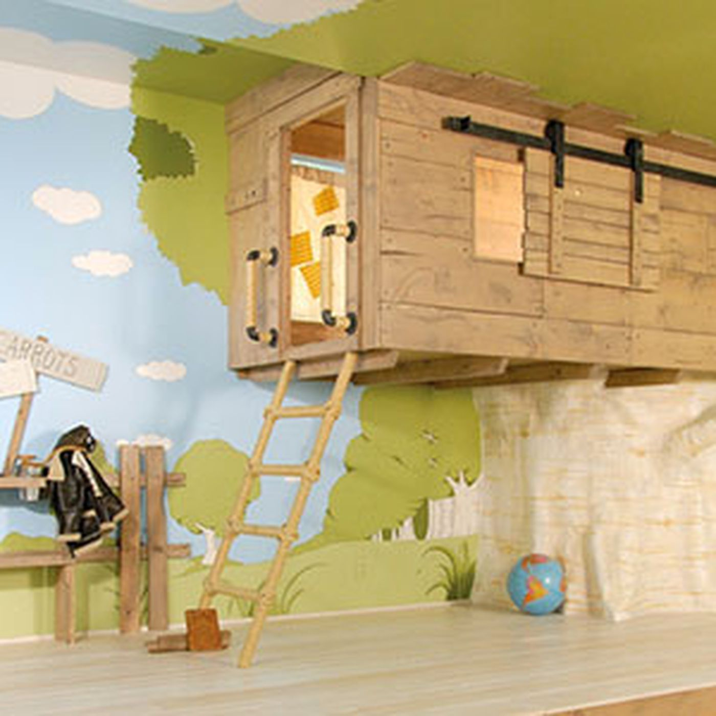 8 Creative Design Ideas From Outrageous Kids Playrooms This Old House