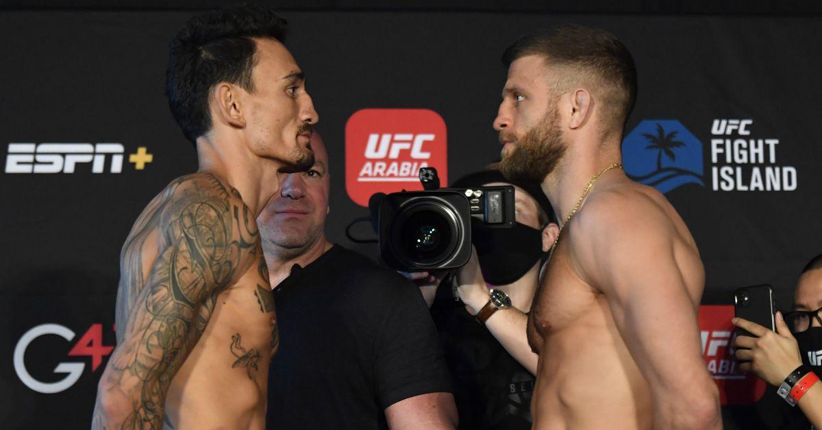 UFC Fight Island 7 live blog: Max Holloway vs. Calvin Kattar