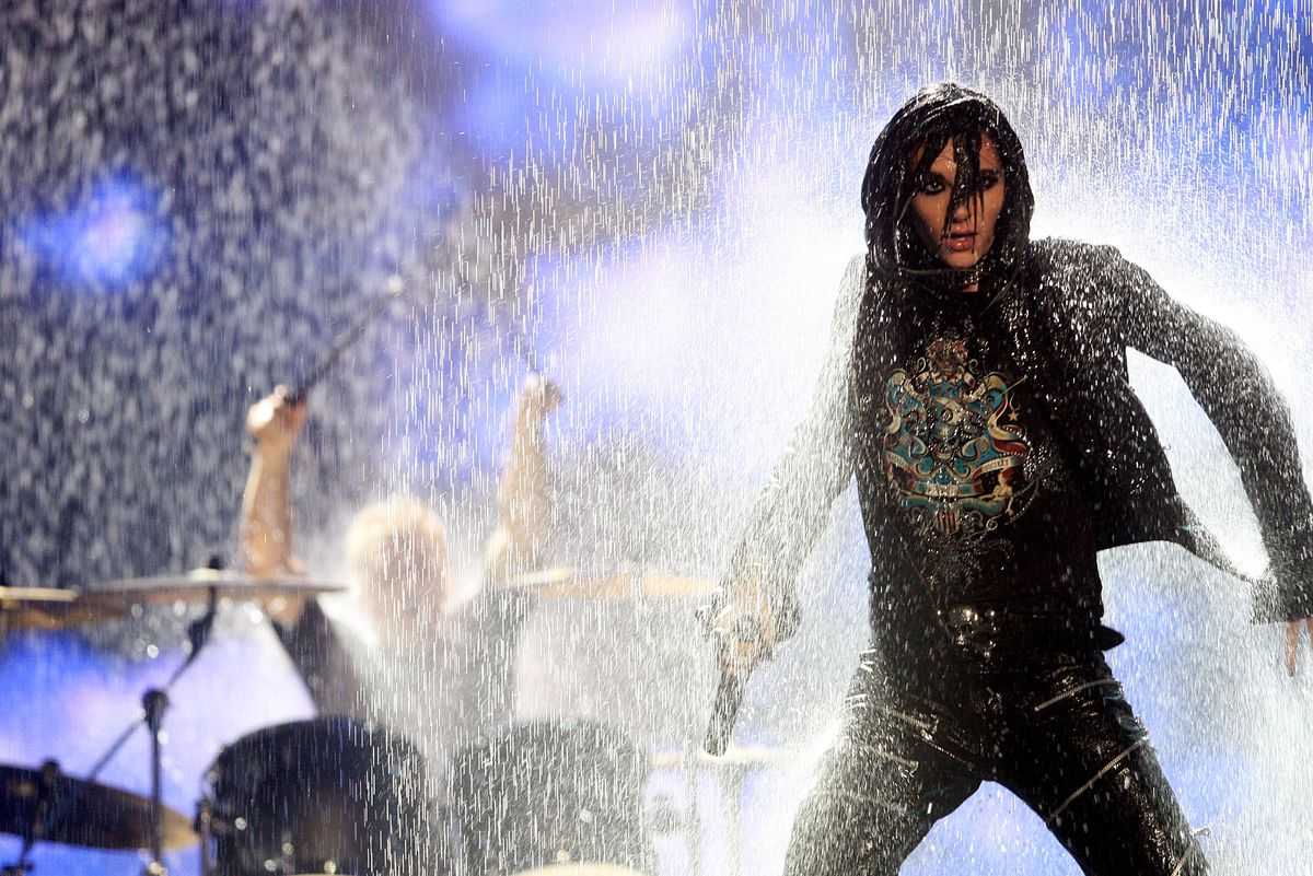Show At The MTV Europe Music Awards 2007