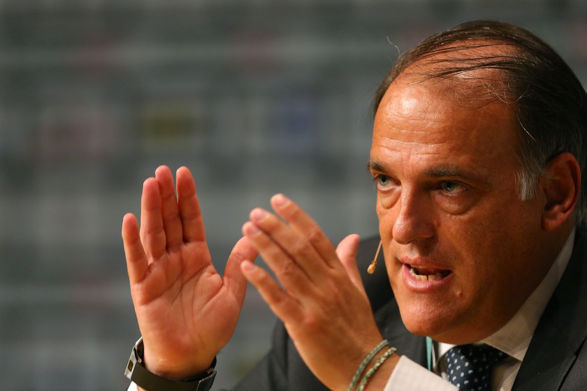 Tebas is at least trying to eradicate match-fixing in La Liga.