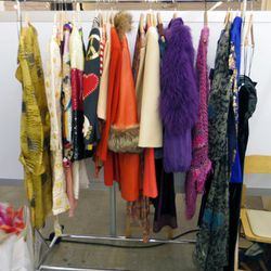 """Colorful winter wear from <a href=""""http://www.newfoundla.com/"""">NEW/FOUND</a> by Richard Wainwright."""