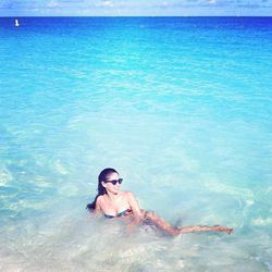 """""""My husband and I went to Turks and Caicos for our honeymoon last month. This is truly the world's best-kept secret! We stayed at my go-to property in Providenciales, <a href=""""http://www.gracebayresorts.com/gracebayclub/""""target=_blank"""">Grace Bay Club</a>,"""