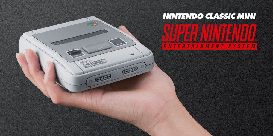 The European SNES Classic is even more adorable than the US