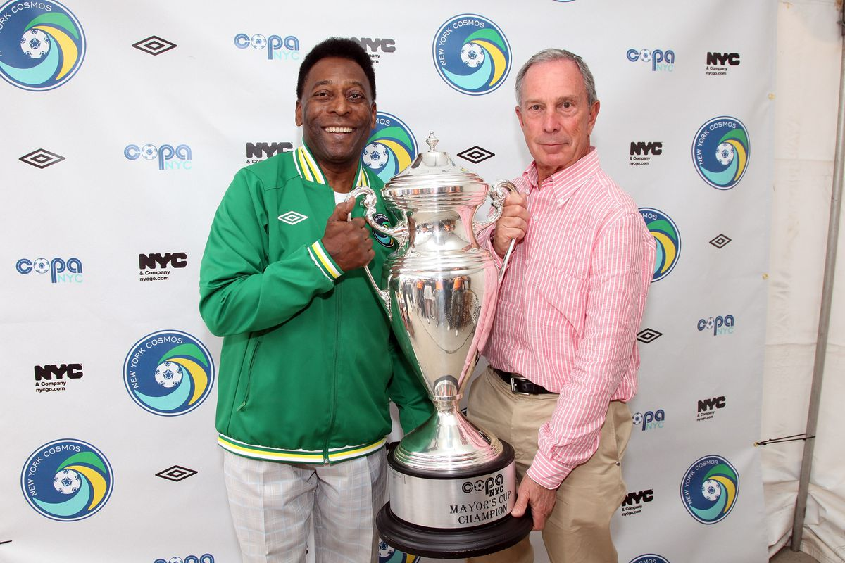 Legendary Pele and World-Renowned New York Cosmos Score a Comeback