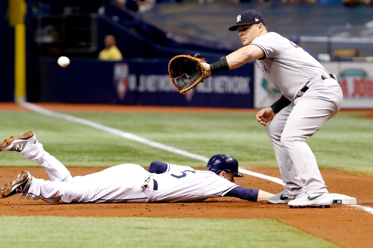 Rays 1 Yankees 4: The Day the Music Died - DRaysBay